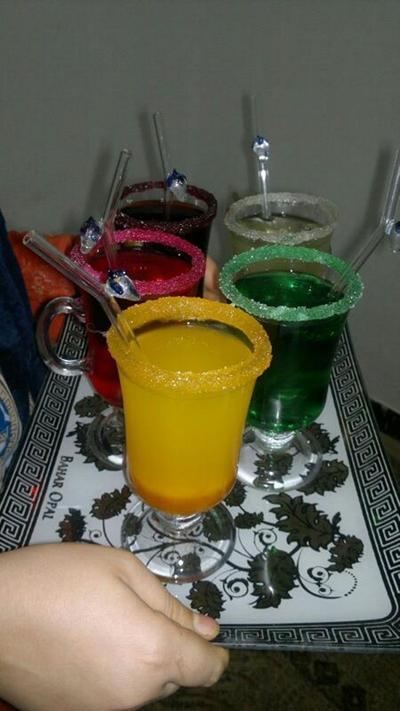 تزیین شربت آبمیوه پذیرایی خواستگاری آموزش چند نوشیدنی و شربت برای پذیرایی خواستگاری