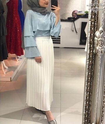 مدل شومیز دامن - بلوز دامن شیک لباس خواستگاری