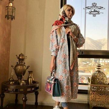 مدل مانتو عید نوروز و بهار 98 - 2019 شیک مزونی