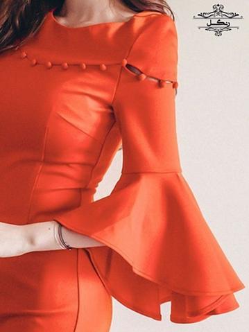 مدل آستین مانتو فانتزی و ژورنالی جدید و خاص دوخت مزون