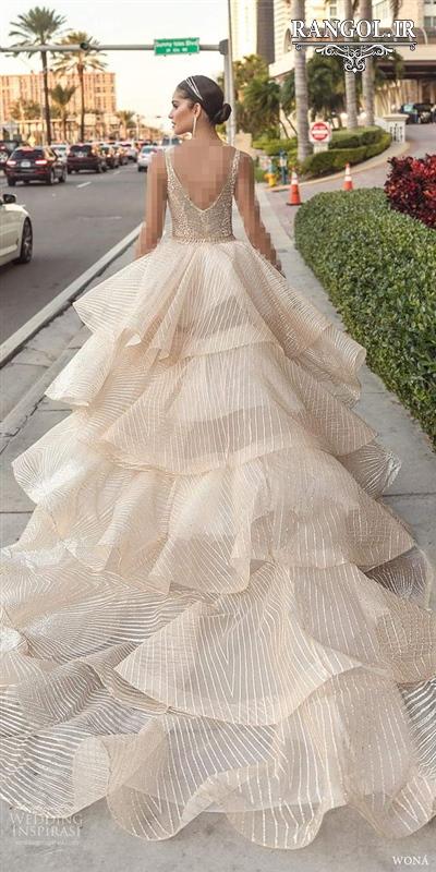 rangol مدل لباس عروس چین چین شیک خاص